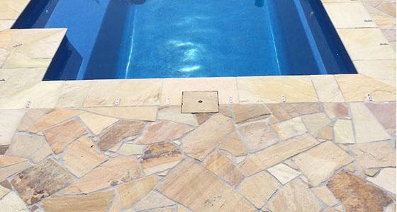 paving - pool